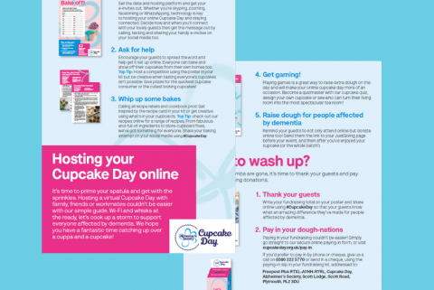 An image of the Cupcake Day online guide