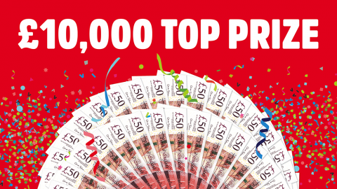 top prize £10000