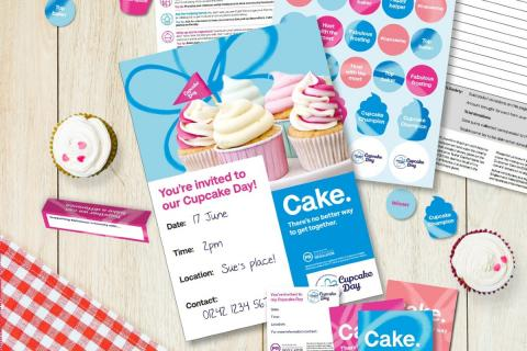A selection of Cupcake Day resources